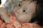 A close-up of our littleangel…