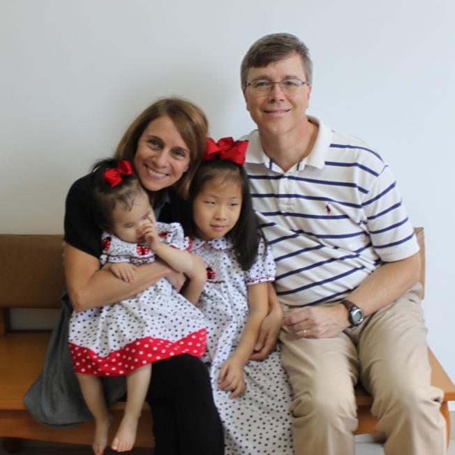 Adoption Day Family Photo